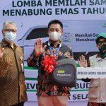 Bank Sampah Budi Luhur Raih Juara Umum dan Rekor Indonesia Award memilah Sampah