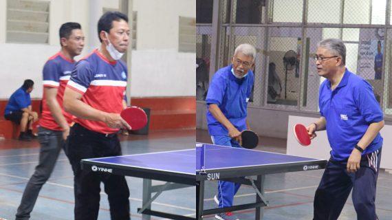 Jalin Silaturahmi, Universitas Budi Luhur Olahraga Tenis Meja Bareng LLDIKTI III Jakarta